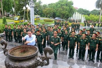 doan cong tac cua hoc vien quoc phong lam viec tai thai nguyen