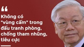 chong tham nhung khong duoc chung xuong khong duoc ngoi nghi