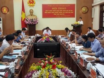 Hội thảo về các dự án ứng dụng Công nghệ thông tin trên địa bàn tỉnh Thái Nguyên
