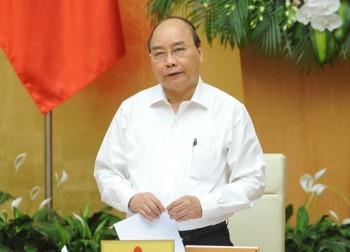 thu tuong chu tri phien hop chinh phu chuyen de xay dung phap luat