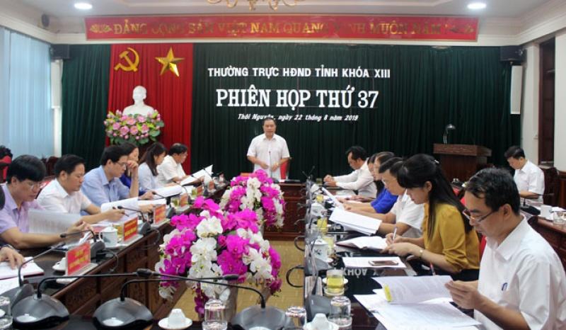 phien hop thu 37 thuong truc hdnd tinh thai nguyen khoa xiii nhiem ky 2016 2021