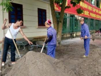 Phú Bình: Trên 2 tỷ đồng cải tạo, sửa chữa vỉa hè các tuyến đường