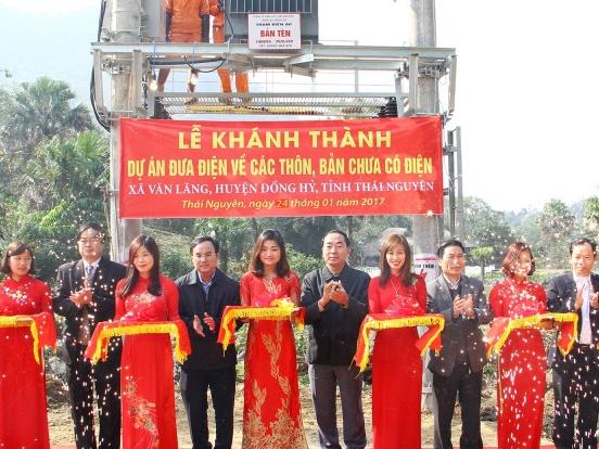 Điện lưới Quốc gia về với 14 xóm, bản vùng sâu, vùng xa huyện Đồng Hỷ