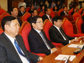 Thông cáo báo chí phiên bế mạc Hội nghị Trung ương 6  