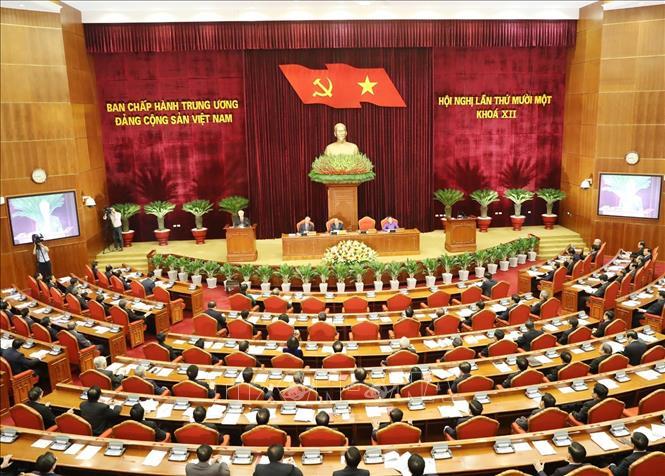 khai mac hoi nghi lan thu 11 ban chap hanh trung uong dang khoa xii