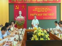 hop tieu ban to chuc phuc vu dai hoi dai bieu dang bo tinh lan thu xx nhiem ky 2020 2025
