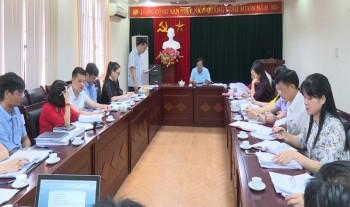 Thường trực HĐND tỉnh Thái Nguyên - Khảo sát kết quả thực hiện vốn đầu tư công tại Sở Kế hoạch - Đầu tư