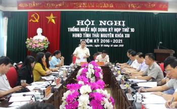 chuan bi cac noi dung cho ky hop thu 10 hdnd tinh khoa xiii nhiem ki 2016 2020