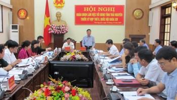 Đoàn Đại biểu Quốc hội làm việc với UBND tỉnh Thái Nguyên trước Kỳ họp thứ 8, Quốc hội khóa XIV