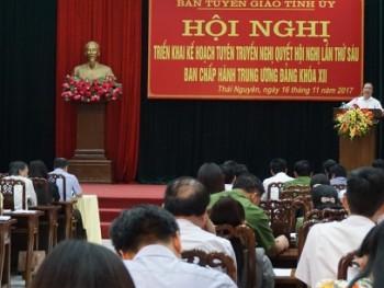 Hội nghị triển khai kế hoạch tuyên truyền Nghị quyết Trung ương 6 khóa XII