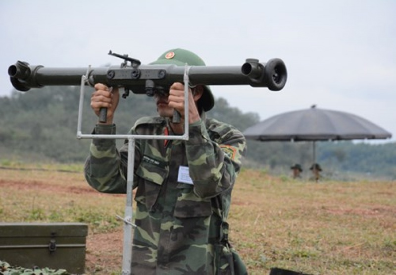 Quân chủng Phòng không – Không quân diễn tập chiến thuật bắn đạn thật tên lửa phòng không tầm thấp
