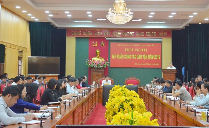 thai nguyen tap huan cong tac dan van nam 2019