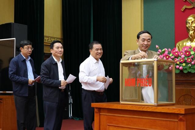 hoi nghi ban chap hanh dang bo tinh thai nguyen lan thu 21 mo rong khoa xix nhiem ky 2015 2020