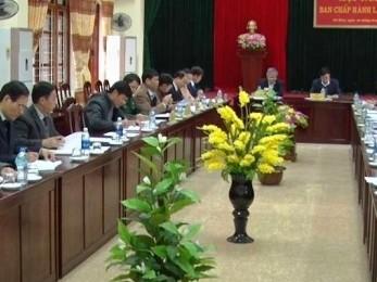 Hội nghị lần thứ 12 Ban Chấp hành Đảng bộ huyện Võ Nhai khóa XXI