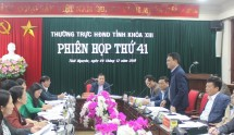phien hop thu 41 cua thuong truc hdnd tinh