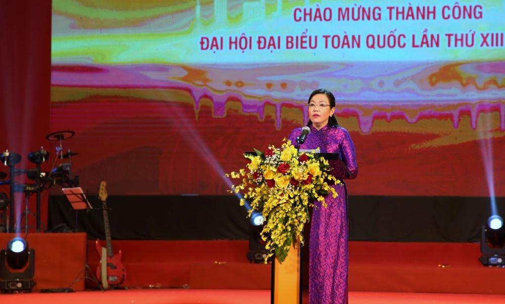 [Photo] Chương trình nghệ thuật chào mừng thành công Đại hội XIII của Đảng