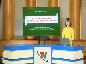 """Lịch phát sóng chương trình """"Ôn tập chương trình phổ thông năm 2020"""" ngày 30/4/2020"""