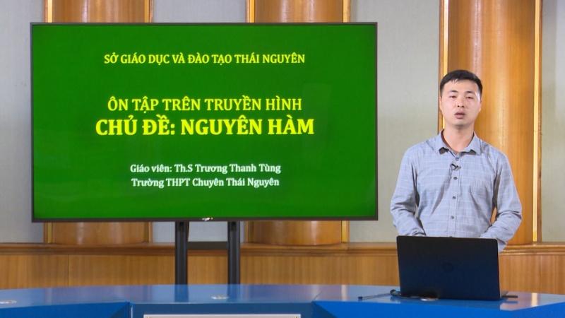 lop 12 mon toan nguyen ham dai ptth thai nguyen