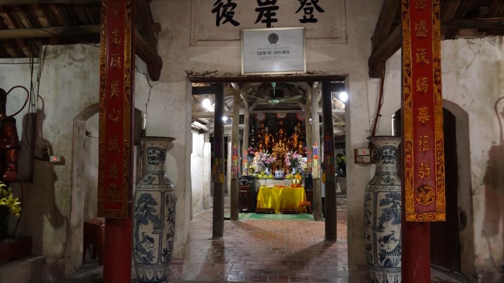 Xuống cấp di tích chùa Ca, xã Kha Sơn, huyện Phú Bình