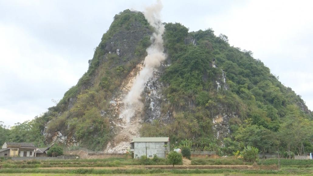 Xử lý dứt điểm tình trạng sạt lở núi Nà Khao giúp người dân yên tâm đón Tết Nguyên đán