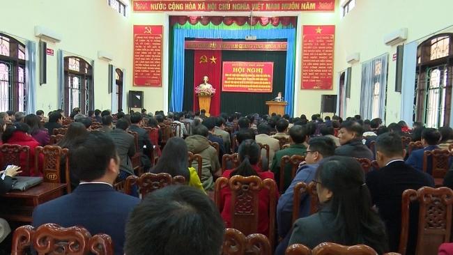 Phú Bình thực hiện tốt phong trào thi đua năm 2020