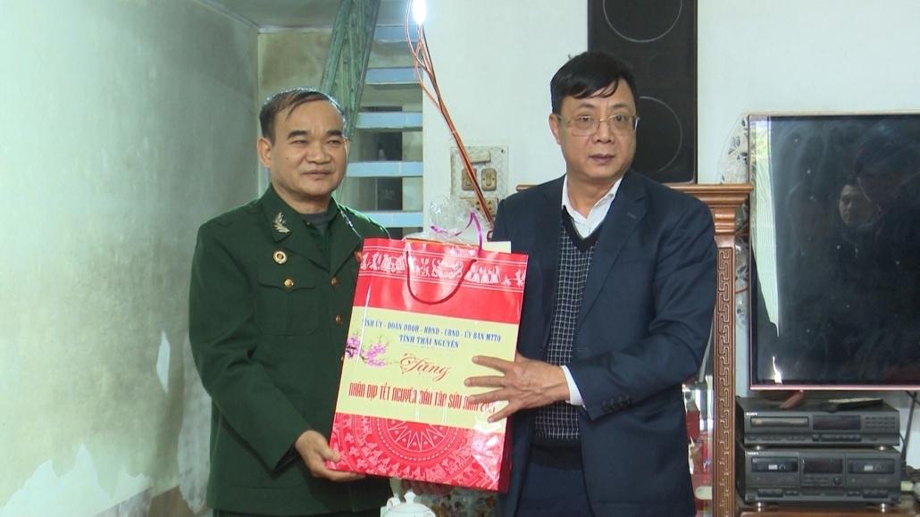 Lãnh đạo tỉnh thăm và tặng quà tết cho các hộ nghèo tại nhiều địa phương