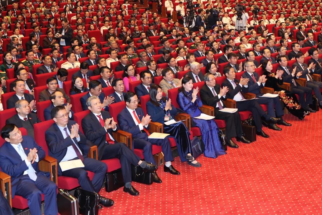Ngày làm việc đầu tiên Đại hội lần thứ XIII của Đảng thảo luận nhiều nội dung quan trọng