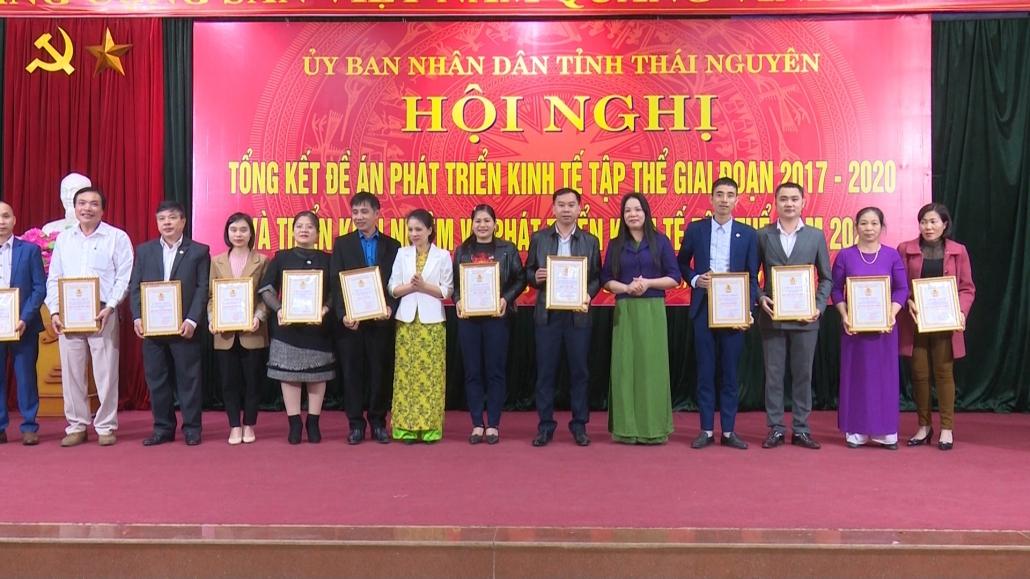 Tiếp tục thúc đẩy phát triển kinh tế tập thể tỉnh Thái Nguyên