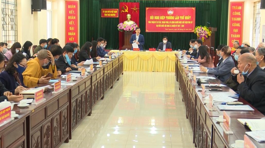Thỏa thuận về cơ cấu, thành phần, số lượng người được giới thiệu ứng cử ĐBQH Khóa XV, nhiệm kỳ 2021-2026