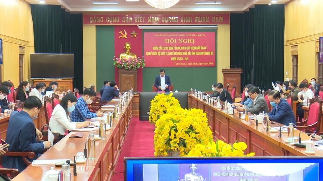 Hướng dẫn giới thiệu người ứng cử đại biểu Quốc hội, đại biểu HĐND nhiệm kỳ 2021-2026