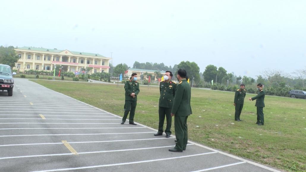 Kiểm tra công tác giao nhận quân tại huyện Phú Lương và Đồng Hỷ