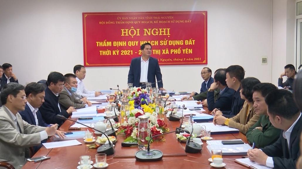 Thẩm định quy hoạch sử dụng đất thời kỳ 2021-2030 thị xã Phổ Yên