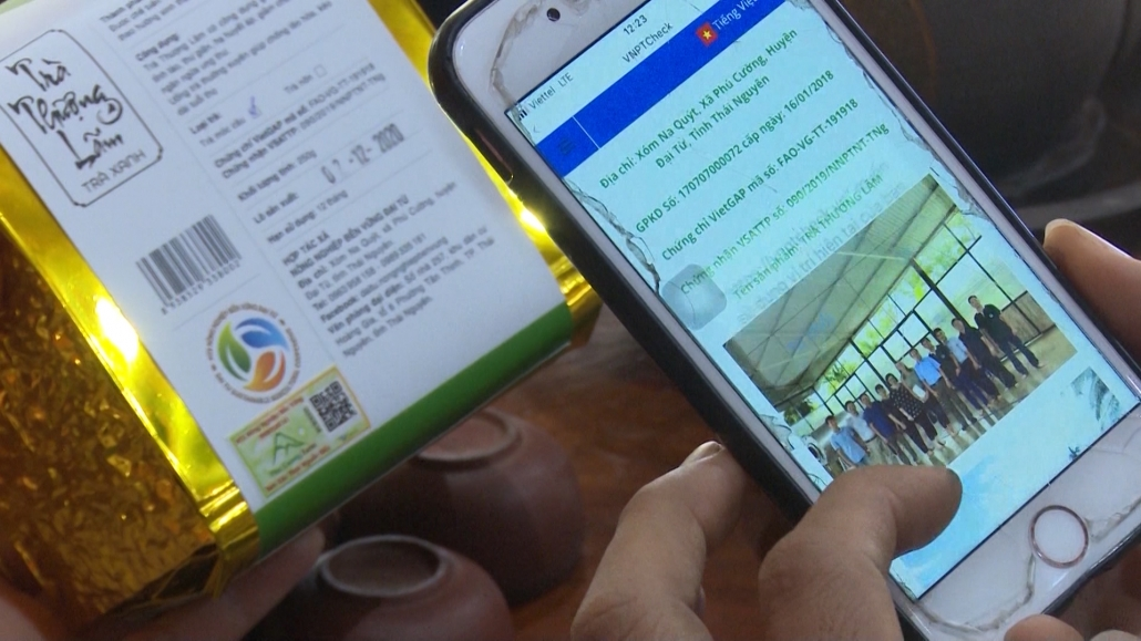 Hơn 1.000 sản phẩm trà Thái Nguyên tham gia hệ thống truy xuất nguồn gốc