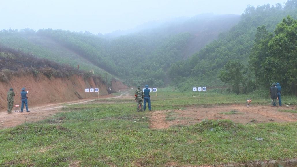 Ghi nhận từ hội thi pháp luật về dân quân tự vệ huyện Đại Từ
