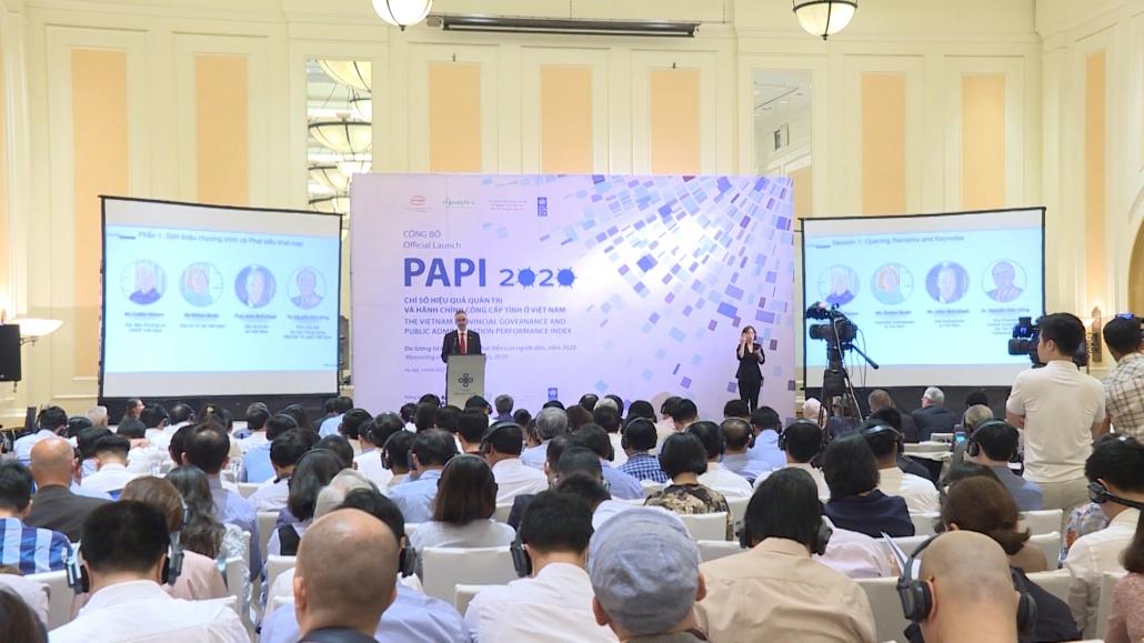 Thái Nguyên đứng thứ 3 trong bảng xếp hạng chỉ số PAPI năm 2020