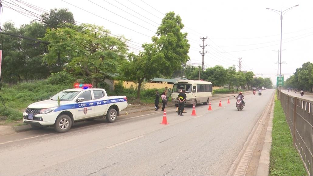 Ra quân đảm bảo an toàn giao thông dịp 30/4 - 1/5 và dịp bầu cử đại biểu Quốc hội và đại biểu HĐND các cấp