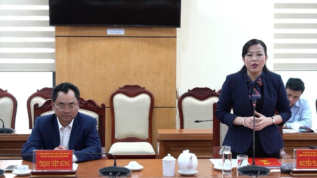 Thái Nguyên mong muốn mở rộng hợp tác với các doanh nghiệp Hoa Kỳ