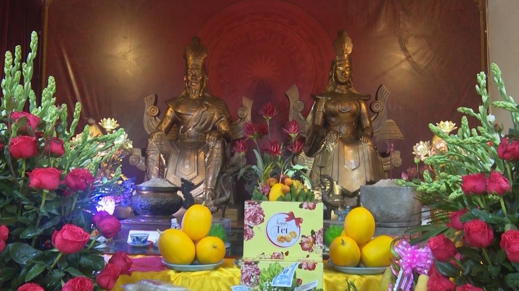 Trang trọng Lễ giỗ Tổ tại đình Hùng Vương, thành phố Thái Nguyên