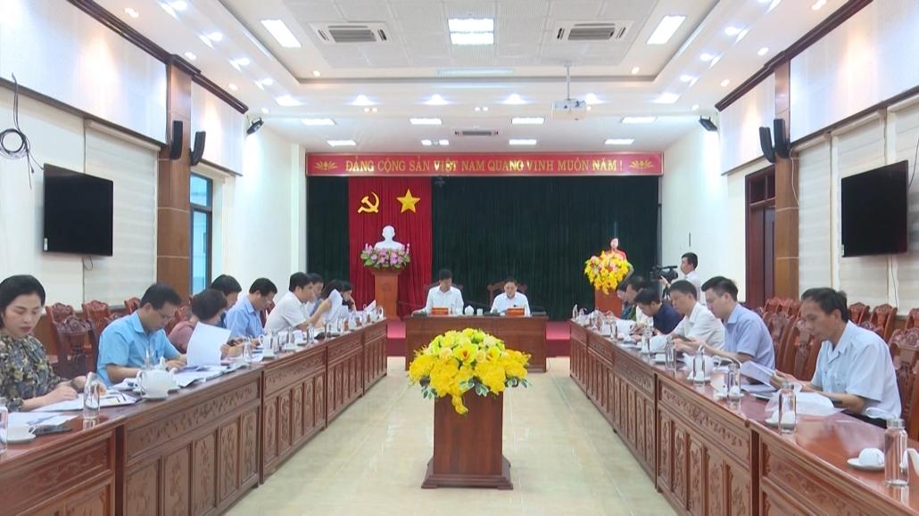 Đánh giá tiến độ công tác bầu cử tại thành phố Thái Nguyên