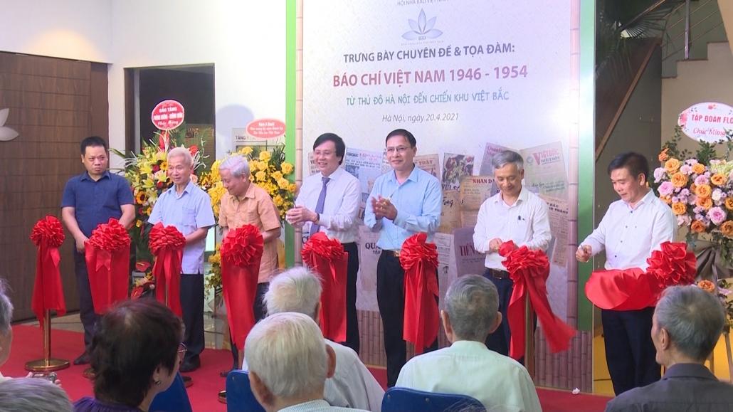 Báo chí Việt Nam - Từ thủ đô Hà Nội đến chiến khu Việt Bắc
