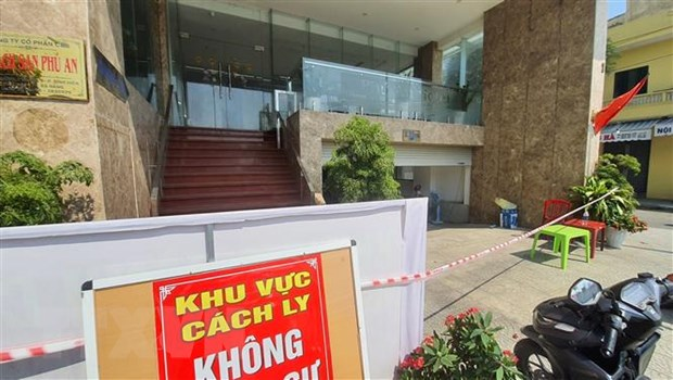 Da Nang: Nhan vien khu vuc massage khach san Phu An mac COVID-19 hinh anh 1