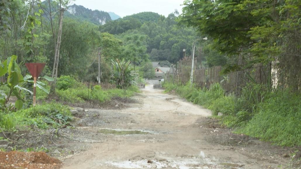 Sớm thu hồi đất để nâng cấp tuyến đường tiếp giáp với Nhà máy Xi măng Quang Sơn, huyện Đồng Hỷ