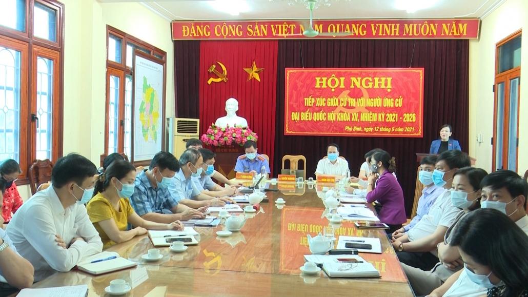 Tiếp xúc giữa các ứng cử viên đại biểu Quốc hội khóa XV với cử tri các địa phương