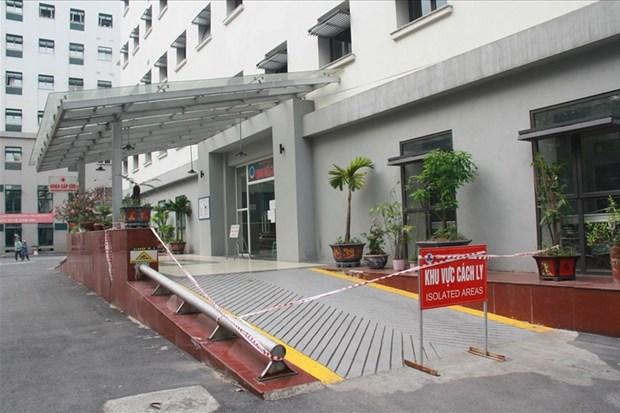 Hà Nội: Bệnh viện Hữu nghị Việt-Xô phong tỏa Khoa Cấp cứu | Y tế | Vietnam+ (VietnamPlus)