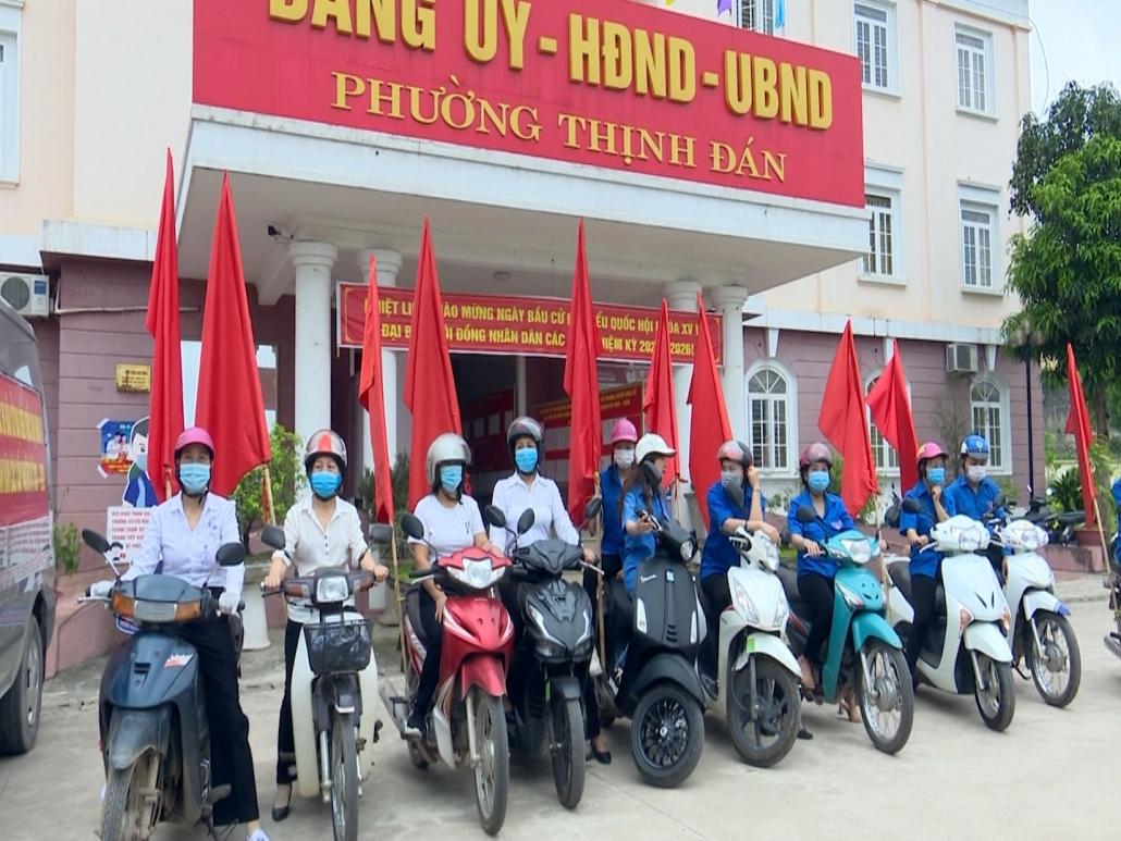 Thành phố Thái Nguyên sẵn sàng cho ngày hội lớn