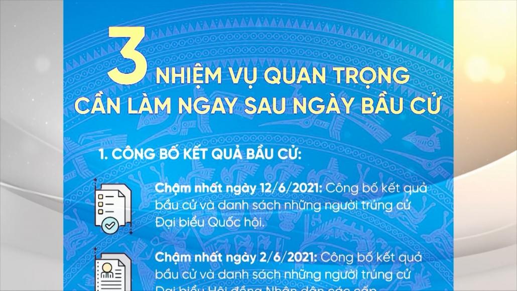 3 nhiệm vụ trọng tâm cần làm sau ngày bầu cử