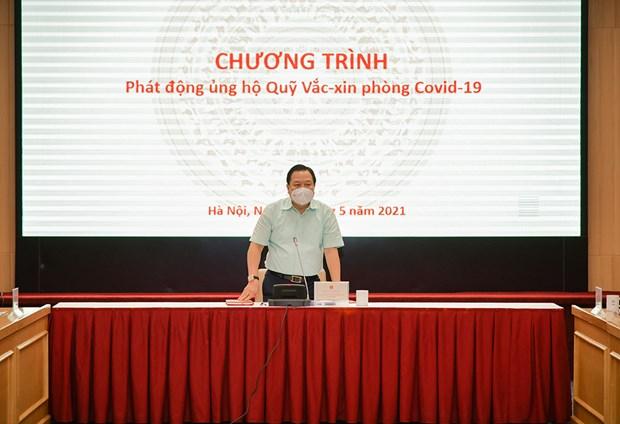 Các tập đoàn, TCT ủng hộ 2.360 tỷ đồng cho Quỹ vaccine COVID-19