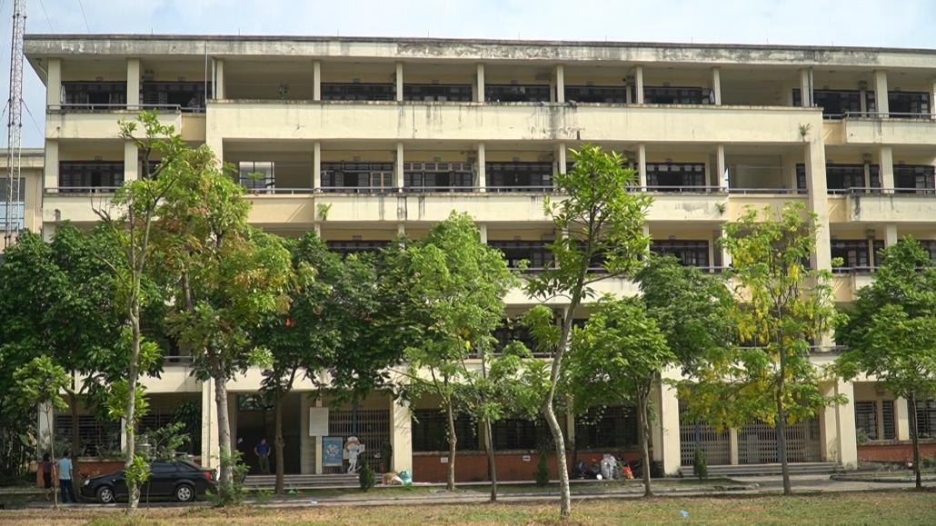 [Photo] Sẵn sàng kích hoạt khu cách ly tập trung thứ 2 tại Đại học Nông Lâm - Đại học Thái Nguyên