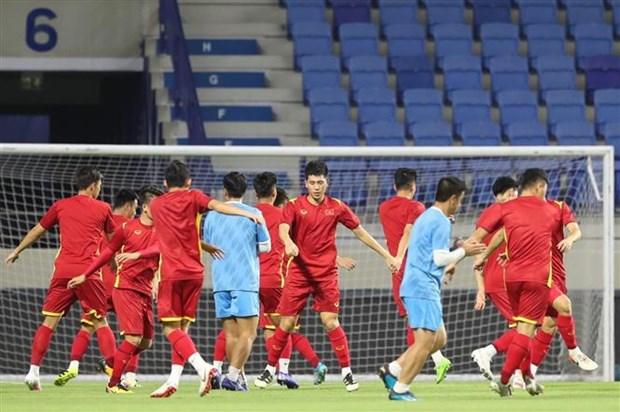 Trọng tài người Kuwait sẽ cầm còi trận Việt Nam-Indonesia tại UAE