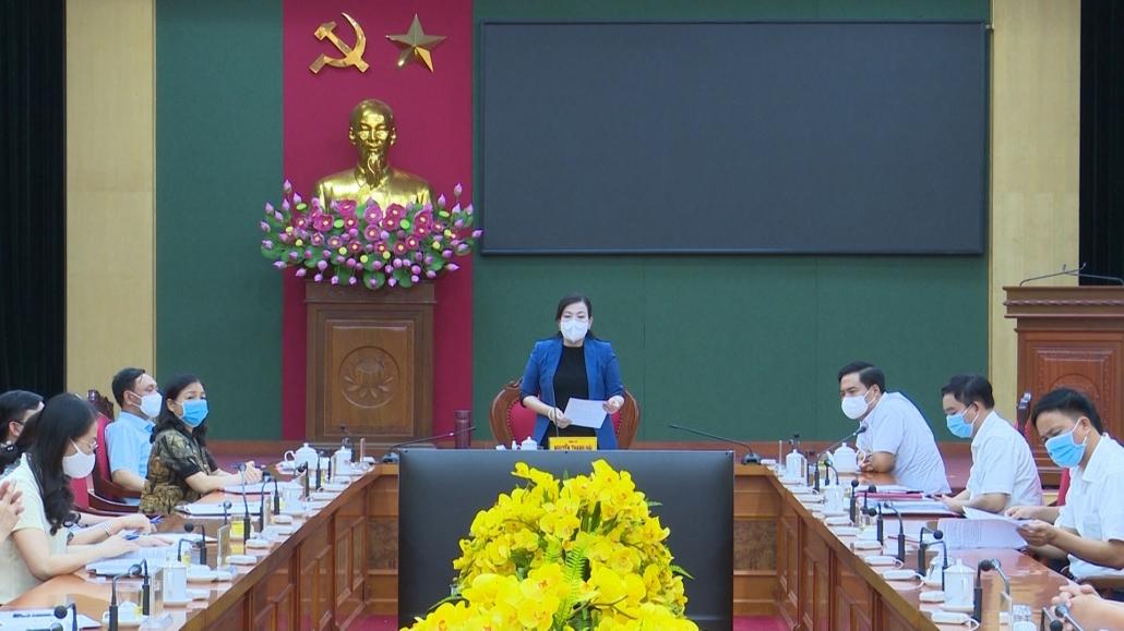 Đồng chí Bí thư Tỉnh ủy tiếp công dân định kỳ tháng 6/2021